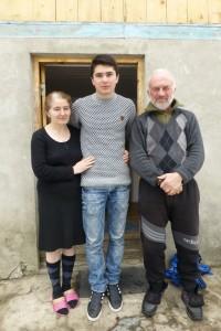 Familie Pangan aus Mazeri.