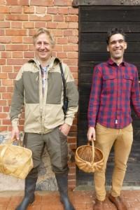 Ēriks Dreibants(links) und Mārtiņš Sirmais