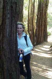 Die Wanderführerin Debra Schwartz