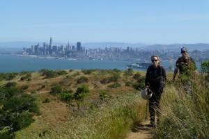 Bester Blick nach Downtown: Wandern auf Angel Island